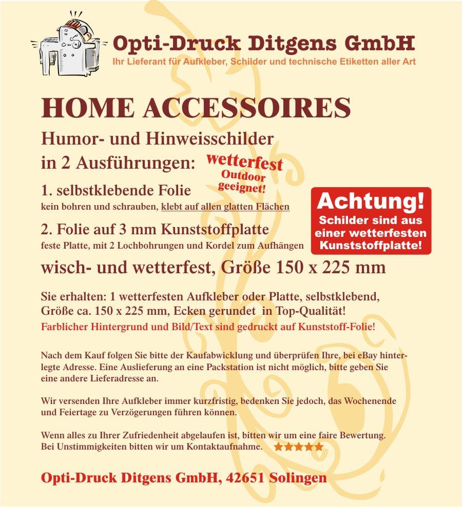 9001 Schild Hopfen Smoothie Dekoration Wohnaccessoire wetterfest Nr